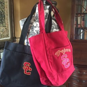 Handbags - Two (2) USC fabric tote bags